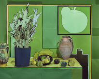Jade with pears and green apples hi res
